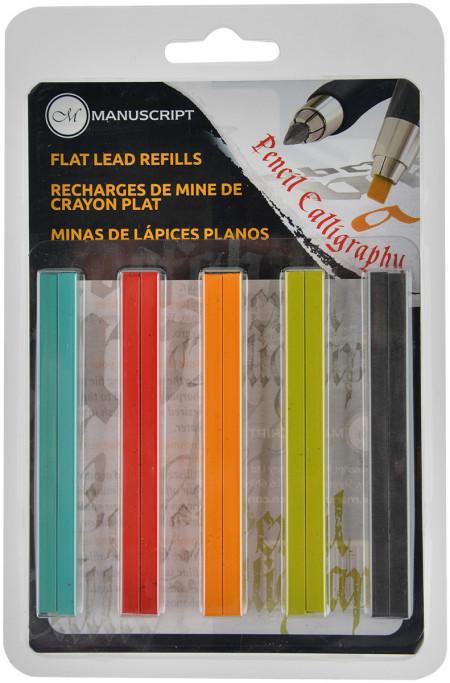 Manuscript Callicreative Lettering Pencil - Flat Lead Set