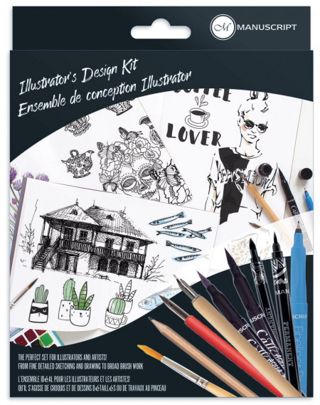 Manuscript Callicreative Illustrator's Design Kit