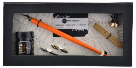 Manuscript Art of Writing Pen & Mini Seal set