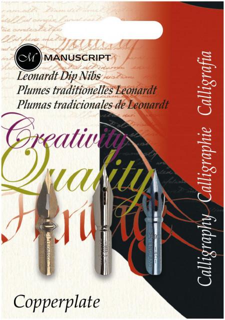 Manuscript Dip Pen Nib Set - Assorted Types