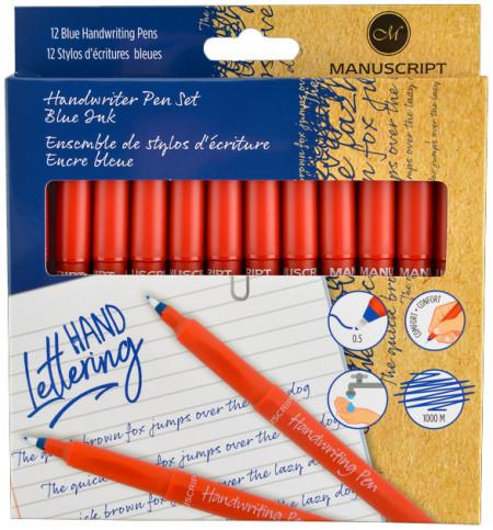 Manuscript Handwriting Pens (Pack of 12)