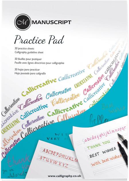 Manuscript Creative Writing Practice Pad