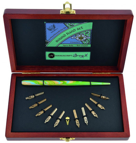 Manuscript Victoriana Calligraphy Gift Set - Collector's Round Hand
