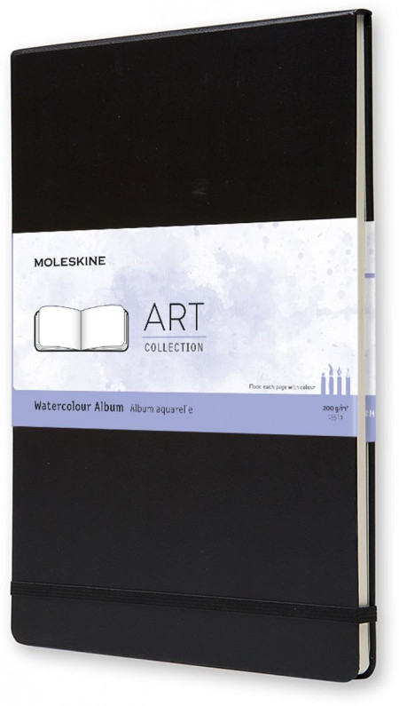 Moleskine Art A4 Watercolour Album - Black