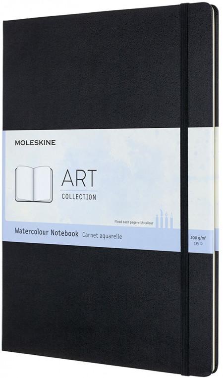 Moleskine Art A4 Watercolour Notebook - Black