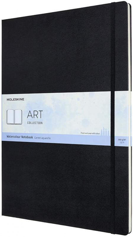 Moleskine Art A3 Watercolour Notebook - Black