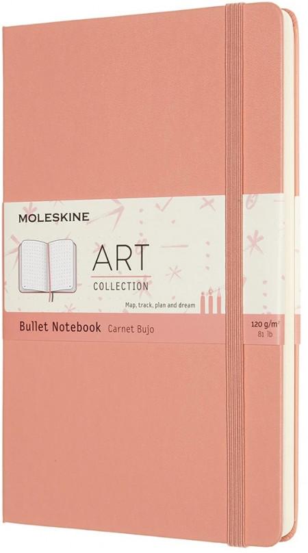 Moleskine Art Hardback Large Notebook - Bullet - Assorted