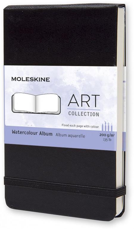 Moleskine Art Pocket Watercolour Album - Black