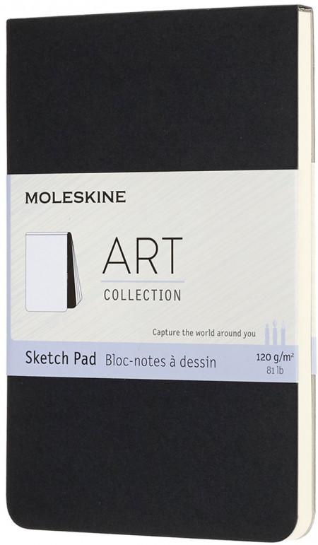 Moleskine Art Pocket Sketch Pad - Black
