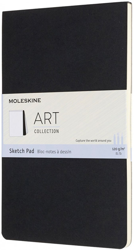 Moleskine Art Large Sketch Pad - Black
