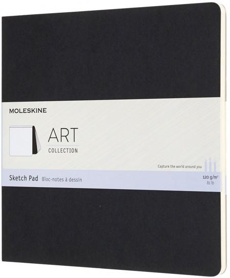Moleskine Art Square Sketch Pad - Black
