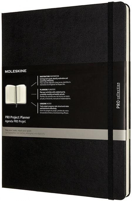 Moleskine Pro Hardback Extra Large Project Planner - Black