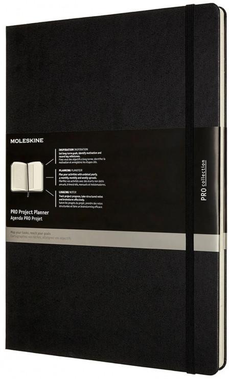 Moleskine Pro Hardback A4 Project Planner - Black