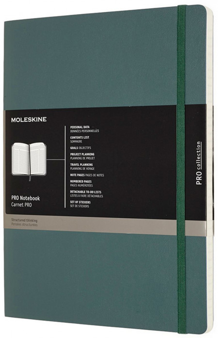 Moleskine Pro Soft Cover Extra Large Notebook - Assorted
