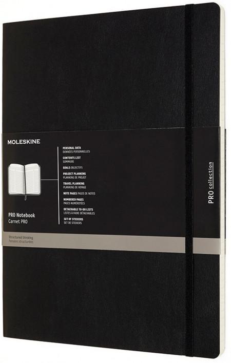 Moleskine Pro Soft Cover Extra Extra Large Notebook - Assorted
