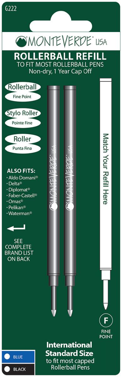 Monteverde Ceramic Rollerball Refill (Blister of 2)
