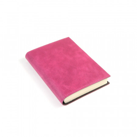 Papuro Capri Leather Journal - Raspberry - Small