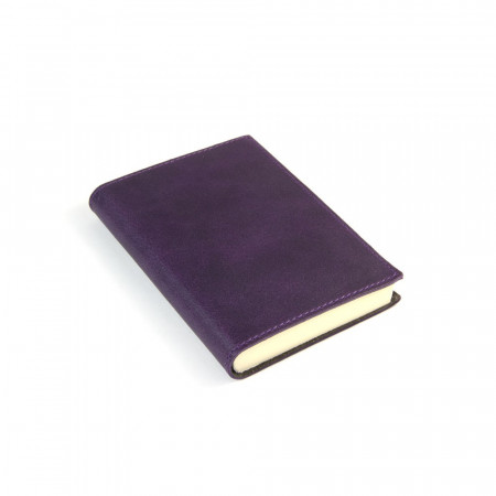 Papuro Capri Leather Journal - Aubergine - Small