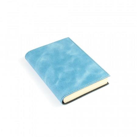 Papuro Capri Leather Journal - Blue - Small