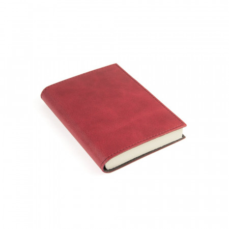 Papuro Capri Leather Journal - Red - Small