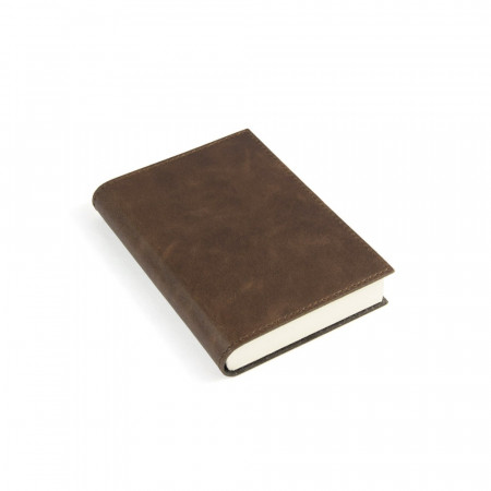 Papuro Capri Leather Journal - Chocolate - Small