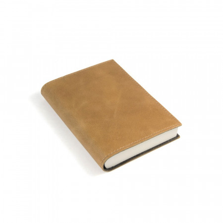 Papuro Capri Leather Journal - Tan - Small