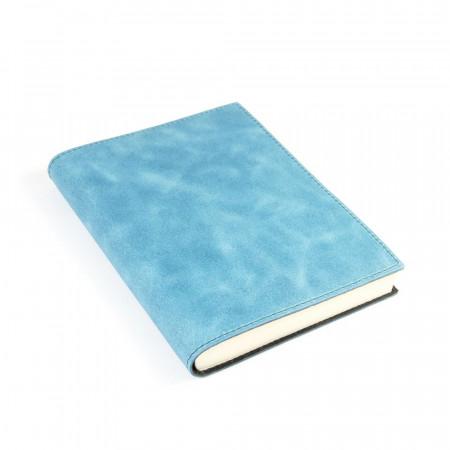 Papuro Capri Leather Journal - Blue - Medium