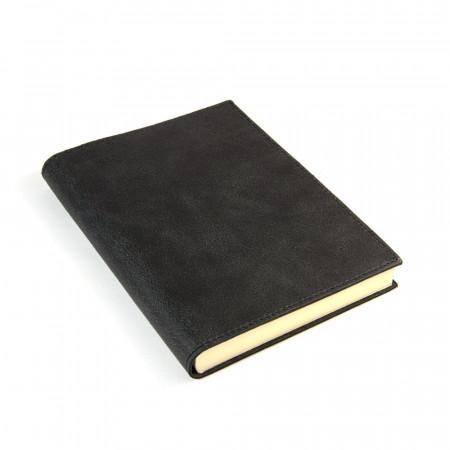 Papuro Capri Leather Journal - Black - Medium