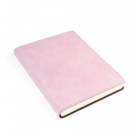 Papuro Capri Leather Journal - Pink - Medium