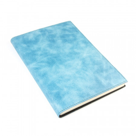 Papuro Capri Leather Journal - Blue - Large
