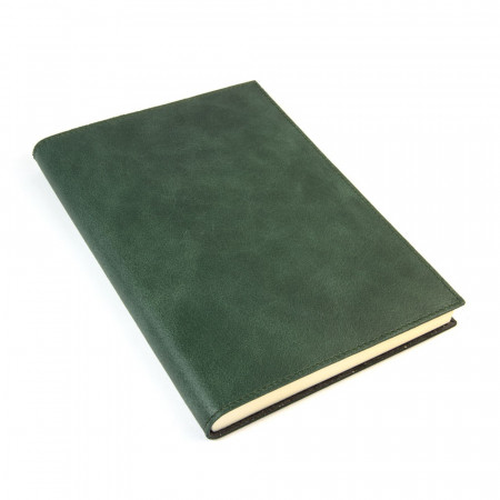 Papuro Capri Leather Journal - Green - Large