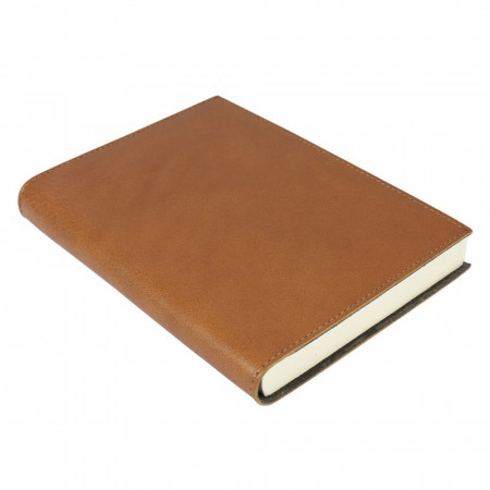 Papuro Firenze Leather Journal - Tan - Medium