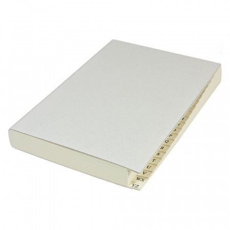Papuro Milano Journal Refill Pages - Address - Medium