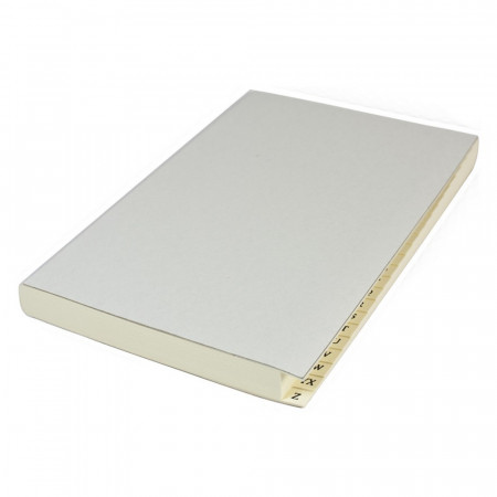 Papuro Milano Journal Refill Pages - Address - Large