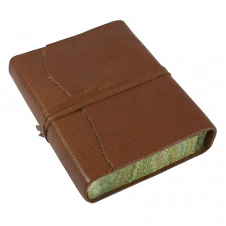 Papuro Roma Leather Journal - Brown - Medium