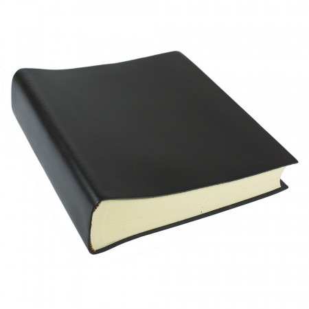 Papuro Torcello Leather Photo Album - Black - Large