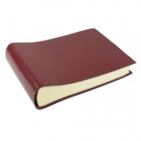 Papuro Torcello Leather Photo Album - Burgundy - Small