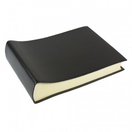Papuro Torcello Leather Photo Album - Black - Small