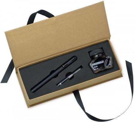 Parafernalia Divina Fountain Pen Gift Set - Black