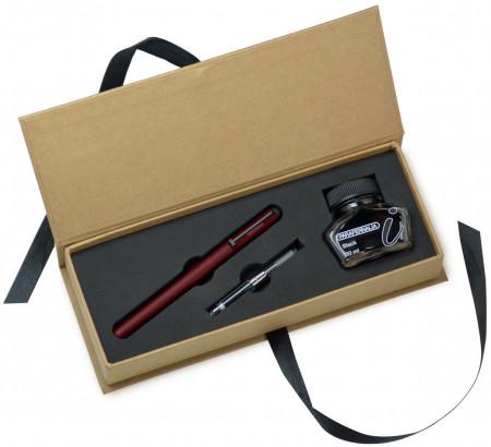 Parafernalia Divina Fountain Pen Gift Set - Red