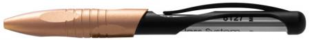 Parafernalia Kabrio Capless Rollerball Pen - Glossy Black