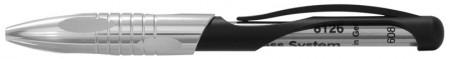Parafernalia Kabrio Capless Rollerball Pen - Silver