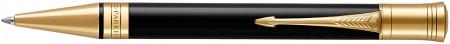 Parker Duofold Classic Ballpoint Pen – Black Gold Trim