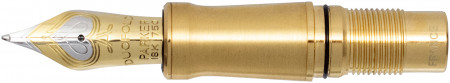 Parker Duofold Prestige Centennial Nib - Solid 18k Gold Bi-Tonal