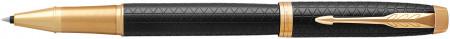 Parker IM Premium Rollerball Pen - Black Gold Trim