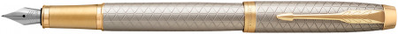 Parker IM Premium Fountain Pen - Warm Silver & Gold