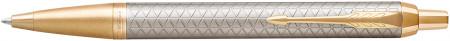 Parker IM Premium Ballpoint Pen - Warm Silver & Gold