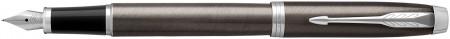 Parker IM Fountain Pen - Dark Espresso Chrome Trim