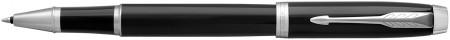 Parker IM Rollerball Pen - Gloss Black Chrome Trim