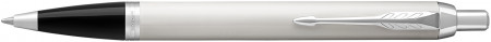 Parker IM Ballpoint Pen - White Chrome Trim
